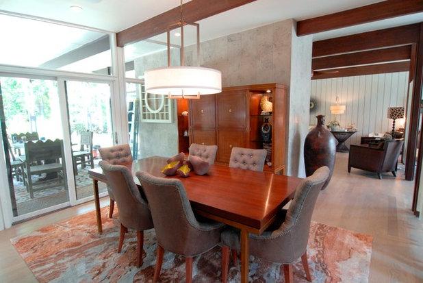 Superb Midcentury Dining Room by Brenda Olde