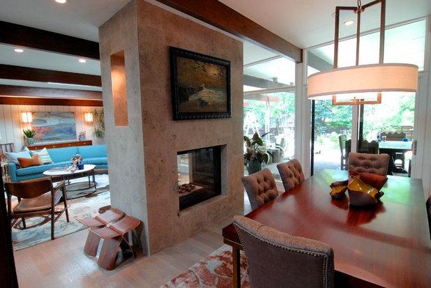 Marvelous Midcentury Dining Room by Brenda Olde