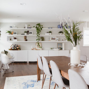 My Houzz: Minimalist, Clean and Collected Mid-Century Modern Home in Chicagoland
