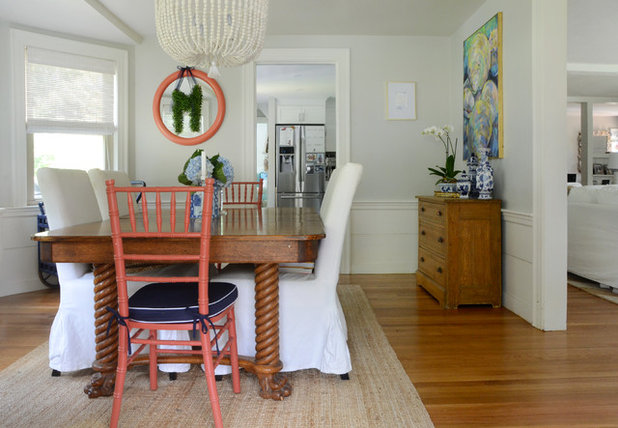 Beach Style Dining Room by Design Fixation [Faith Provencher]