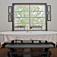 Eclectic Dining Room by Sarah Natsumi Moore