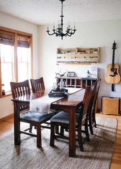 Landhausstil Esszimmer by Ellie Lillstrom Photography