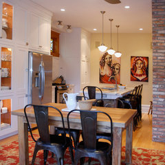 traditional dining room by Heather Merenda