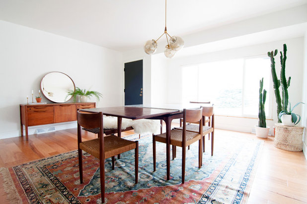 Midcentury Dining Room by Alexandra Crafton