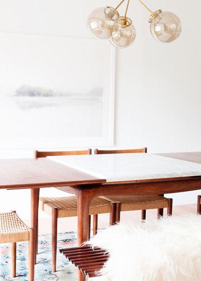 Midcentury Dining Room by Alexandra Crafton