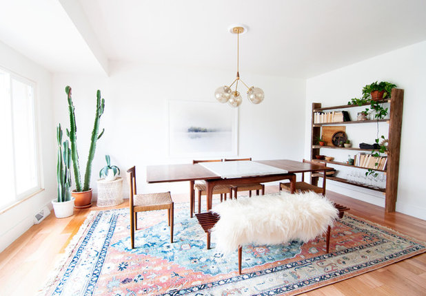 Elegant Midcentury Dining Room by Alexandra Crafton