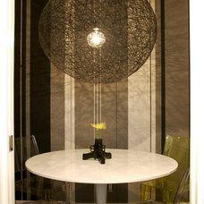 Contemporary Dining Room by Heather Merenda