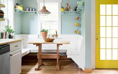 11 gemütliche Sitzecken in der Küche