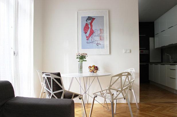 Contemporary Dining Room by Martin Hulala