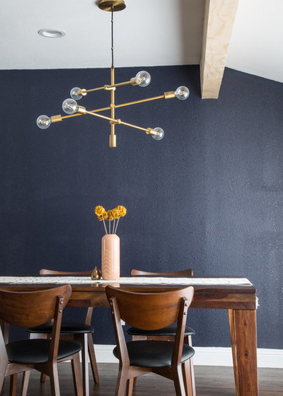 Midcentury Dining Room by Angela Flournoy