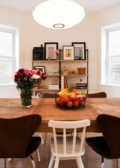 Scandinavian Dining Room by Rachel Loewen Photography
