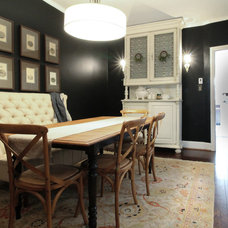 Eclectic Dining Room by Michaela Dodd