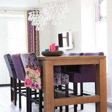 Contemporary Dining Room by Louise de Miranda