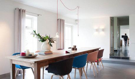 Rythmez votre salle à manger en associant des chaises dépareillées