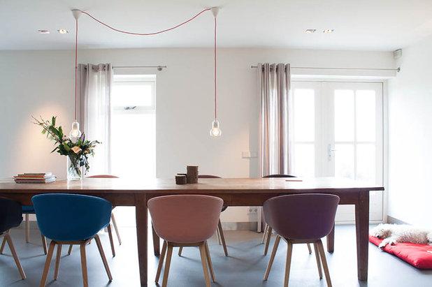 Tavolo e lampada per sala da pranzo - Lampadari per sala pranzo ...
