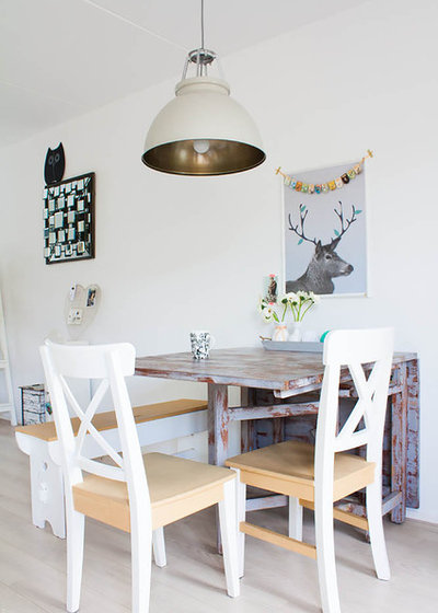 Scandinavian Dining Room by Louise de Miranda