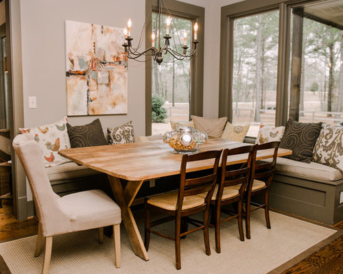 Freestanding Banquette Seating | Houzz