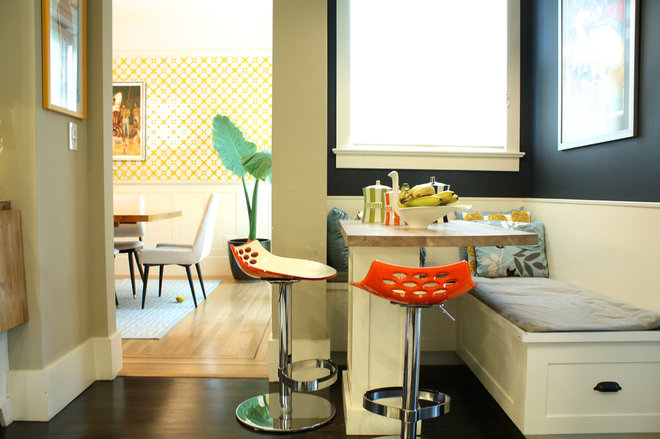 Contemporary Dining Room by Shannon Malone