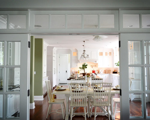 French doors with transom ideas pictures remodel and decor for Dining room ideas with french doors