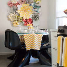 Eclectic Dining Room by Angela Flournoy