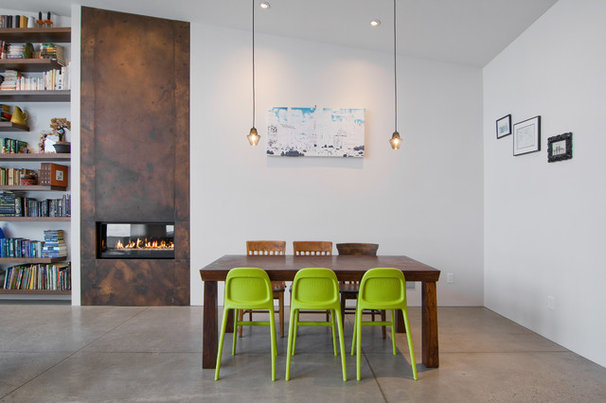 Contemporary Dining Room by Lucy Call