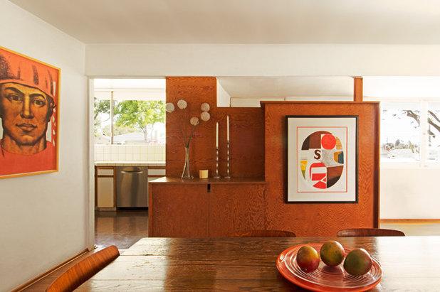 Midcentury Dining Room by Carolyn Reyes