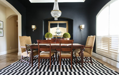 My Houzz: Timeless Black-and-White Style in Texas
