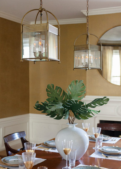 Tropical Dining Room by Margaret Wright Photography