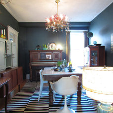 Eclectic Dining Room by Jenn Hannotte / Hannotte Interiors