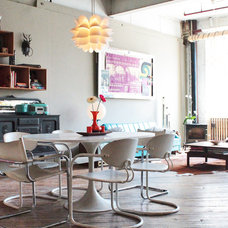 Industrial Dining Room by Laura Garner