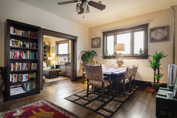 Eclectic Dining Room by Lucy Call