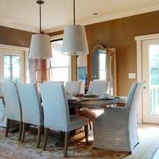 Beach Style Dining Room by Corynne Pless
