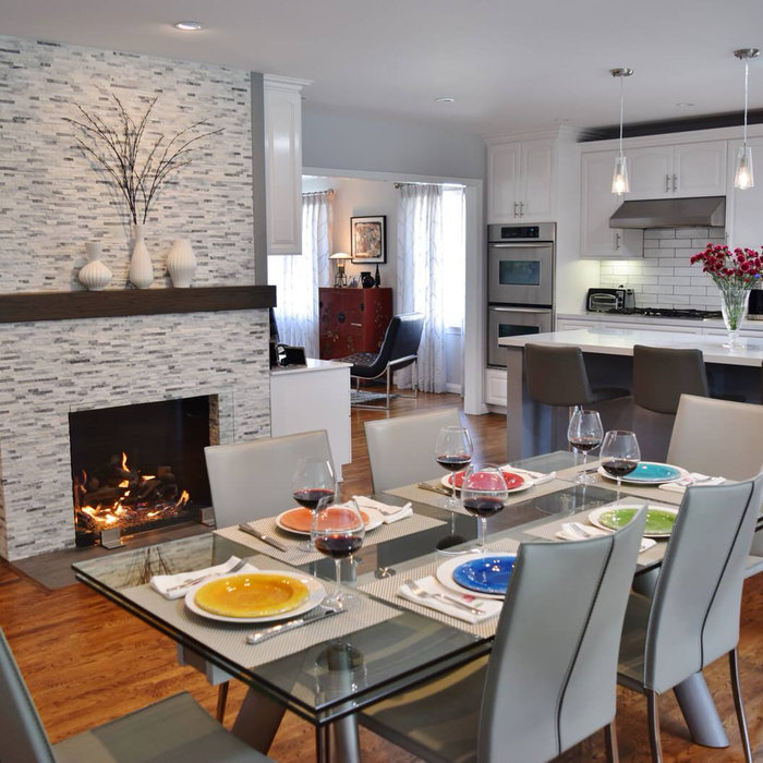 My Kitchen & Contemporary Dining and Living Room Remodel - Sherman Oaks, Ca.