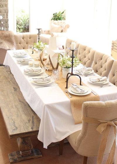 Un centre de table r ussi pour le r veillon for Centre de table salle a manger