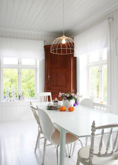 Scandinavian Dining Room by Jeanette Lunde