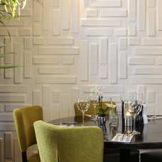 modern dining room by MyWallArt 3d wall panels
