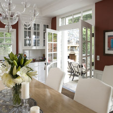 Traditional Dining Room by Nadia Designs