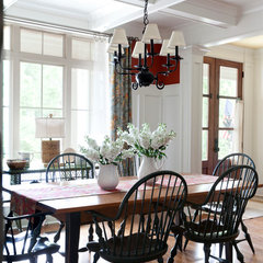 traditional dining room by Bret Franks Construction, Inc.