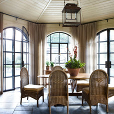 Traditional Dining Room by Tammy Connor Interior Design