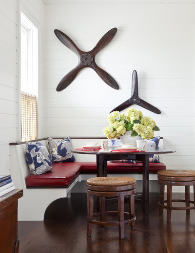 Traditional Dining Room by Jeannie Balsam Interiors