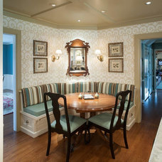 Traditional Dining Room by Mullet Cabinet