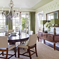 Traditional Dining Room by Tim Barber LTD Architecture & Interior Design
