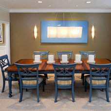 Contemporary Dining Room by Jeff Sheats Designs, Inc