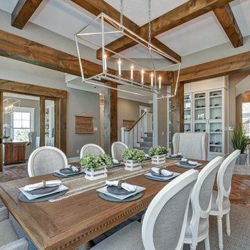 Nantucket Model Home built by Infinity Custom Homes in Wexford, PA