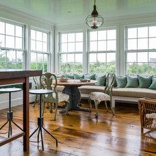 Beach Style Dining Room by Stedila Design