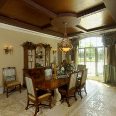 Traditional Dining Room by King's Court Builders, Inc.