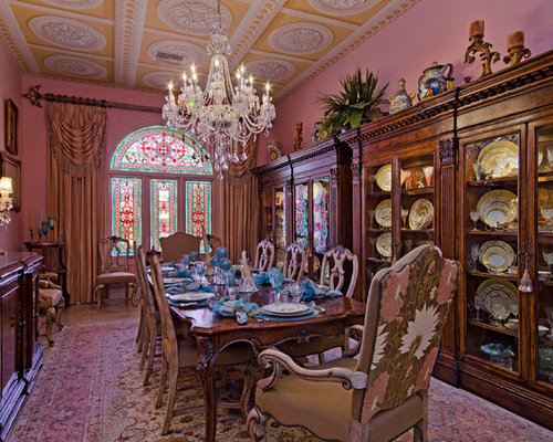 Victorian dining room design ideas remodels photos Victorian dining room colors
