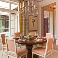 Traditional Dining Room by Theo and Isabella Design Group