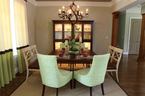Traditional Dining Room by Homestyles Interior Design