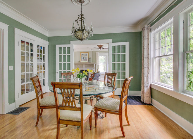 Traditional Dining Room by Intuitive Home Staging
